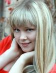 Photo of beautiful Ukraine  Olga with blonde hair and grey eyes - 19491