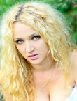 Photo of beautiful  woman Roksolana with blonde hair and green eyes - 20573