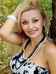 Photo of beautiful Ukraine  Svetlana with blonde hair and grey eyes - 18167
