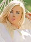 Photo of beautiful Ukraine  Svetlana with blonde hair and blue eyes - 19713