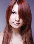 Photo of beautiful Ukraine  Tatiana with brown hair and green eyes - 12310