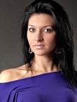 Photo of beautiful Ukraine  Tatiana with black hair and blue eyes - 12325