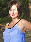 Photo of beautiful Ukraine  Tatiana with brown hair and blue eyes - 18171