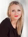 Photo of beautiful Ukraine  Tatyana with blonde hair and green eyes - 19545