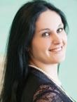 Photo of beautiful Ukraine  Tatyana with black hair and green eyes - 20028