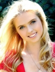 Photo of beautiful Ukraine  Valeria with blonde hair and green eyes - 21290