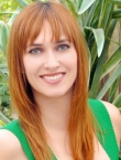 Photo of beautiful Ukraine  Valeria with red hair and grey eyes - 21566