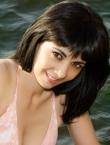 Photo of beautiful Ukraine  Valeriya with black hair and brown eyes - 20225