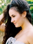 Photo of beautiful Ukraine  Valeriya with black hair and brown eyes - 21617
