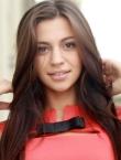 Photo of beautiful Ukraine  Valeriya with black hair and green eyes - 22197