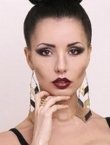 Photo of beautiful Ukraine  Victoria with black hair and brown eyes - 21139