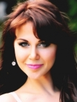 Photo of beautiful Ukraine  Viktoria with brown hair and green eyes - 20345