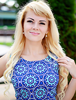 Photo of beautiful  woman Yana with blonde hair and green eyes - 17963