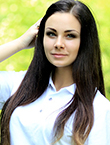Photo of beautiful Ukraine  Yana with brown hair and green eyes - 19310