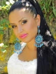 Photo of beautiful Ukraine  Yana with black hair and brown eyes - 19976