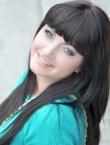 Photo of beautiful Ukraine  Yana with brown hair and green eyes - 20516
