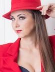 Photo of beautiful Ukraine  Yuliya with light-brown hair and green eyes - 21328